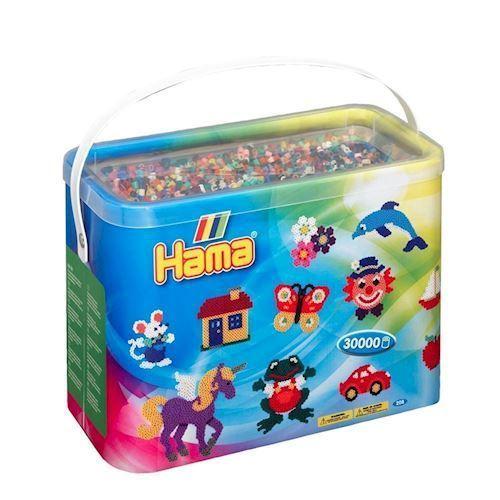 Hama perler blandede farver (067), 30.000 stk