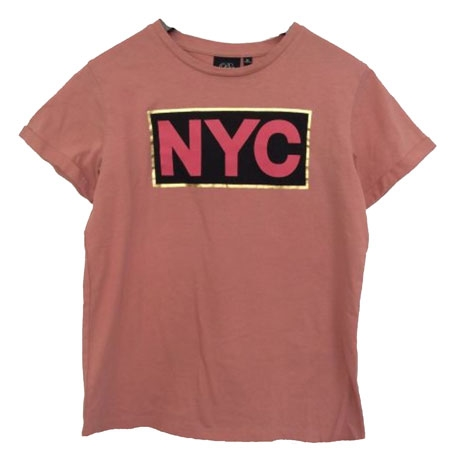 Petit by Sofie Schnoor NYC T-shirt - Dusty Rose