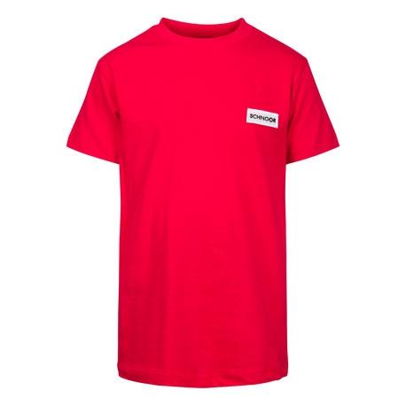 Schnoor T-shirt - Rød