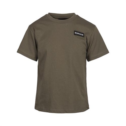 Schnoor T-shirt - Armygrøn