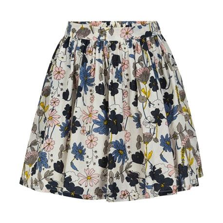 Creamie nederdel blomster - Cloud