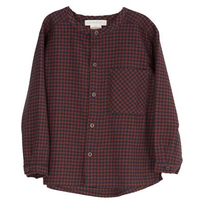 Serendipity skjorte til børn, Brushed - Checks