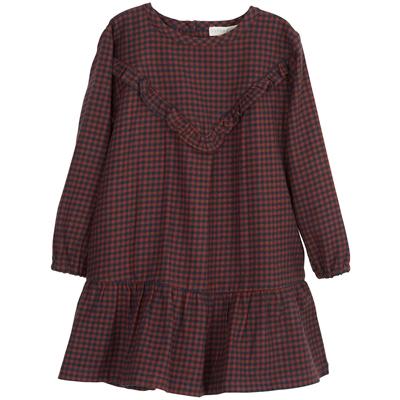 Serendipity kjole til børn, Brushed - Checks