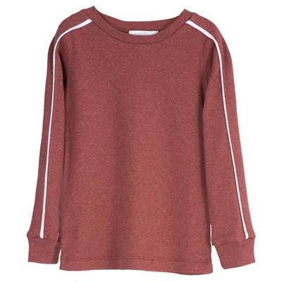 Serendipity bluse m/længe ærmer - Cayenne