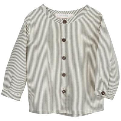 Serendipity skjorte til baby - Capersstripe
