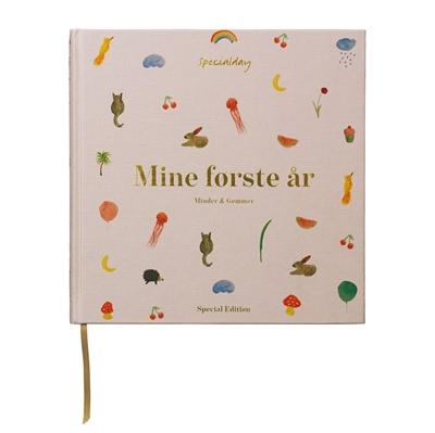 """Specialday Mine første år - Minder og Gemmer"""" - Rosa"""