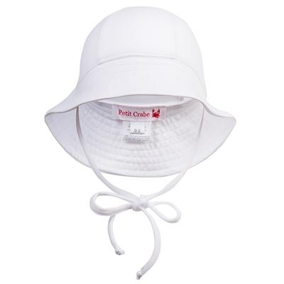 Petit Crabe solhat med UV-filter, Frey - White