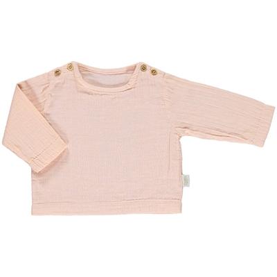 Poudre Organic bluse, Houblon - Evening Sand