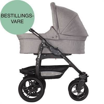 Naturkind barnevogn - VARIUS XL - Lys grå