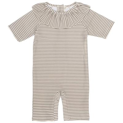 Konges Sløjd UV-dragt m krave, Striped