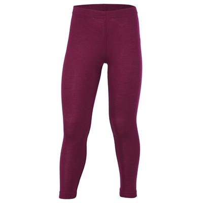 Engel bukser / leggings, uld/silke - Orchidee