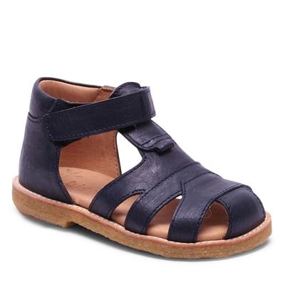 Bisgaard sandal m/velcro - Navy