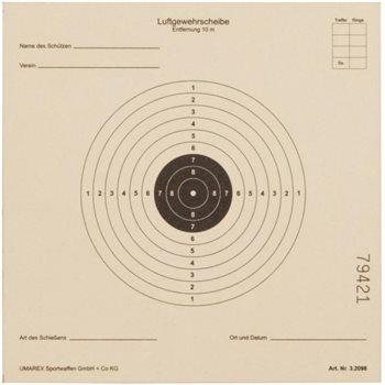 Umarex 100 stk skydeskiver 14x14cm