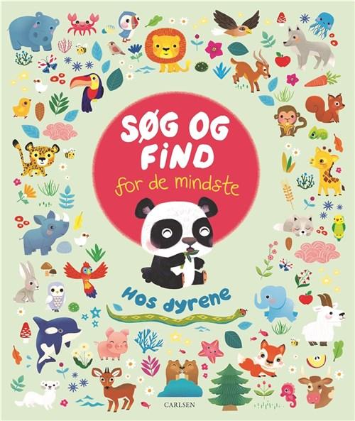 Carlsen Søg og find for de mindste - hos dyrene