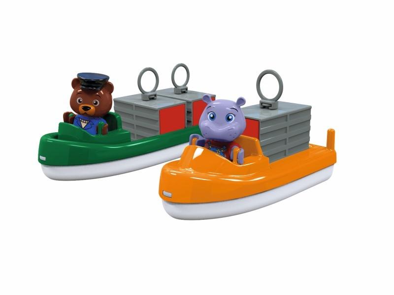 AquaPlay Transportbåd og Containerbåd