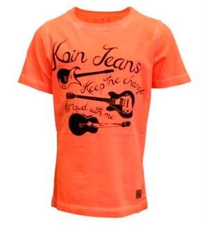 Orange Guitar T-shirt Fra Koin