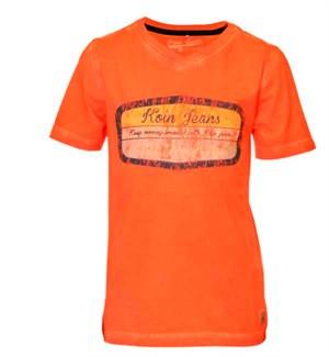 Orange Keep The Change T-shirt Fra Koin