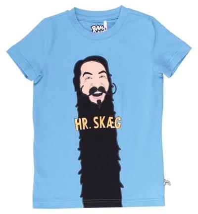 Blå Hr. Skæg T-shirt Fra Ramasjang Kluns