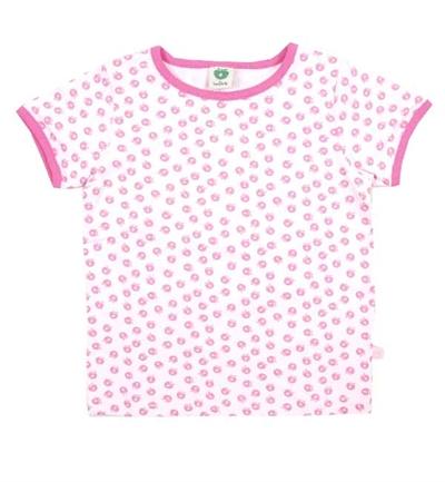 Lys Pink Mini Æble T-shirt Fra Småfolk