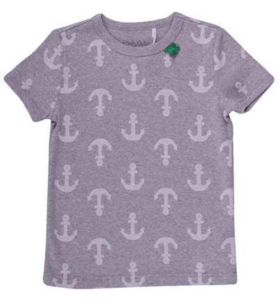 Grå Anker T-shirt Fra Freds World