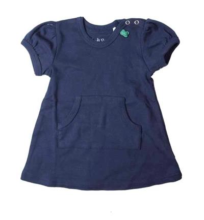 Mørkeblå Alfa Kjole Med Lommer Fra Freds World