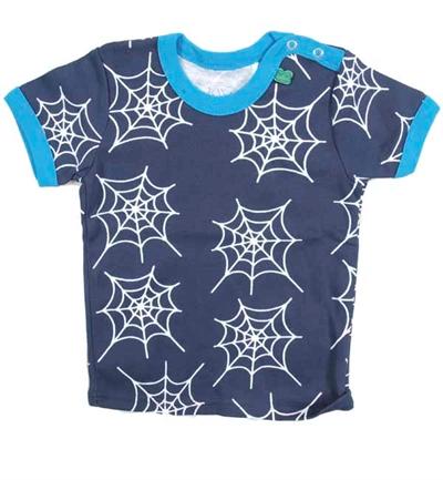 Blå Spider T-shirt Fra Freds World