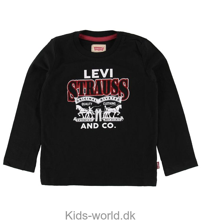 Levis Bluse - Sort m. Logo