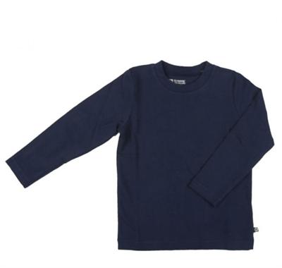 Mørkeblå T-shirt L/S (ONE) Fra Katvig