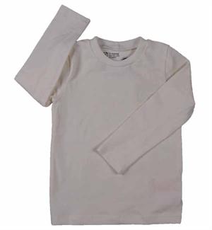 Offwhite T-shirt L/S (ONE) Fra Katvig