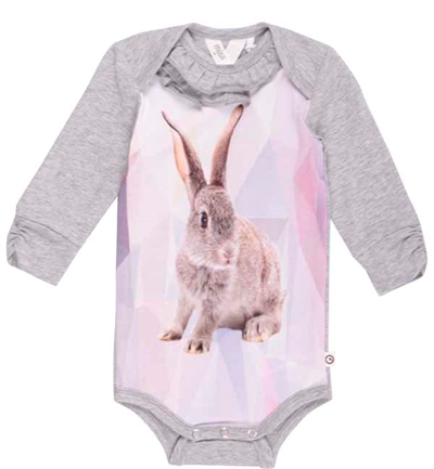 Grå Rabbit Bodystocking Fra Musli