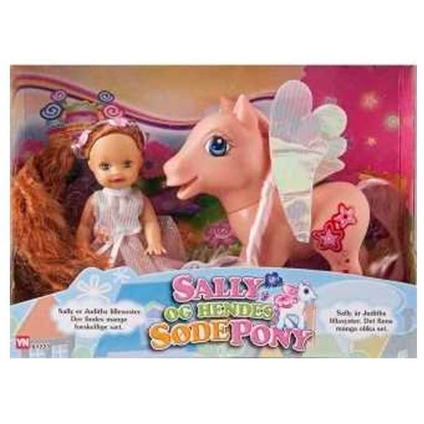 Sally Dukke My Pony Lyserød Manke