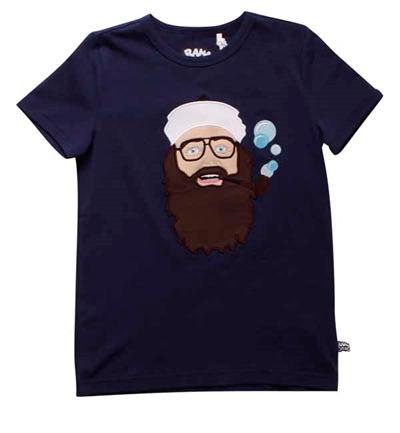 Mørkeblå Onkel Reje T-shirt Fra Ramasjang Kluns