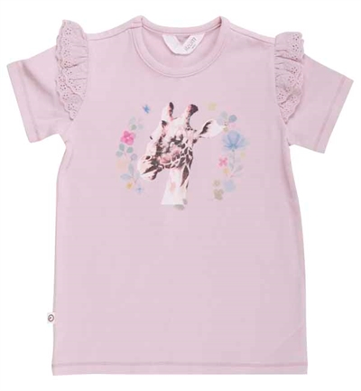 Rose Giraf T-shirt Fra Musli