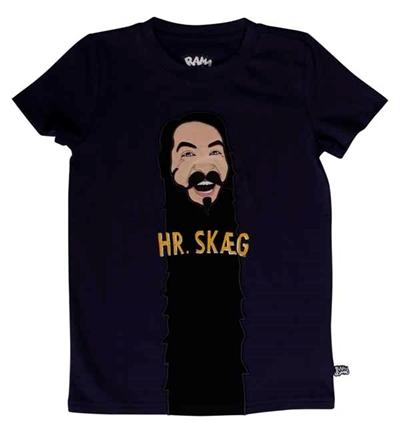 Mørkeblå Hr. Skæg T-shirt Fra Ramasjang Kluns