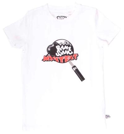 Hvid Kristian Lup T-shirt Fra Ramasjang Kluns