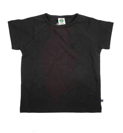 Sort T-shirt Fra Småfolk