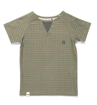 Grå/Grøn Gate T-shirt Fra Albababy