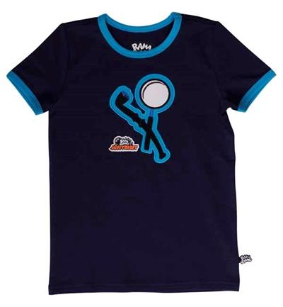 Mørkeblå Kristian Spion T-shirt Fra Ramasjang Kluns
