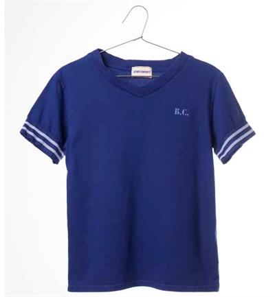 Mørkeblå B.C. Team T-shirt Fra Bobo Choses