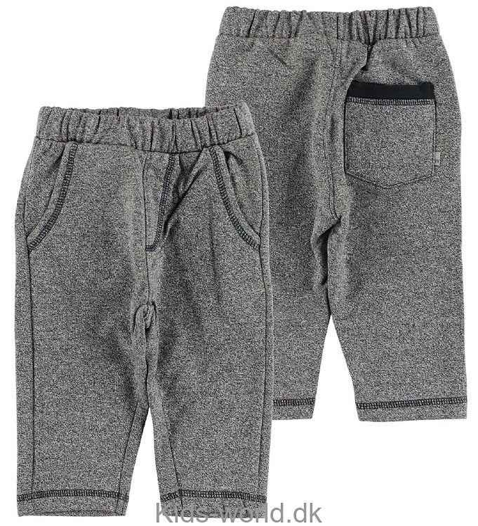 Wheat Sweatpants - Navymeleret