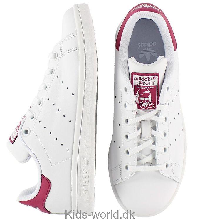 fc82a9e5c9fc adidas Originals Sko - Stan Smith J - Hvid Mørk Rosa