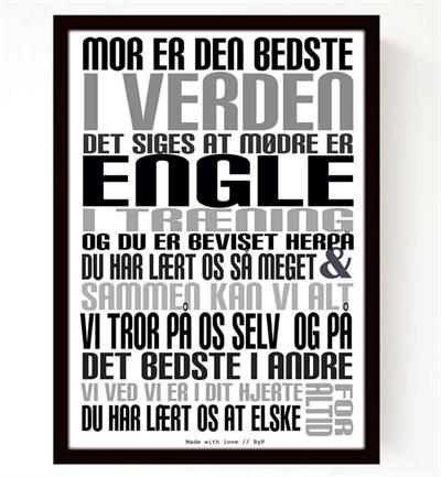 Mor Plakat I Gaveæske A5 Fra Livink
