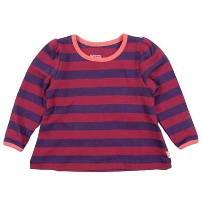 Lilla Stribede Puff T-shirt Fra Katvig