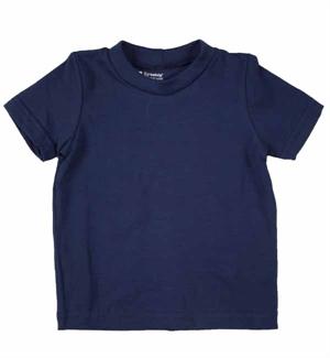 Blå T-shirt S/S (ONE) Fra Katvig