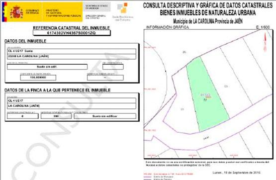 Calle VIARIO 4 DE LA UE 17-C, S/N, PARCELA 1 y 2 PARC 1-2 0 0, Carolina (La), Jaén