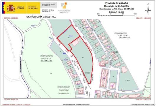 Urbanización CRUCE DON MANUEL 3 , Alcaucín, Málaga