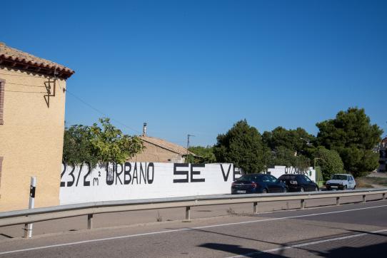 Carretera ZARAGOZA A FRANCIA (BARRIO DEL PORTAZGO), Zuera