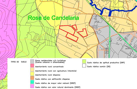 Paraje ROSA DE LA CANDELARIA, PG 7 PC 39 0 , Oliva (La), Las Palmas