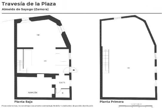 Casa en venta en Almeida de Sayago