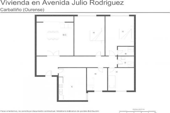 Av JULIO RODRIGUEZ SOTO, CARBALLINO